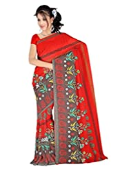 Anand Sarees Faux Georgette Synthetic Print Saree - B013X039RO