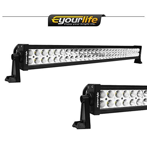 Led Light Bar Eyourlife 52 Inch Light Bar 300W 30200LM Flood Spot Light Bar for 4wd SUV UTE Offroad Truck ATV UTV