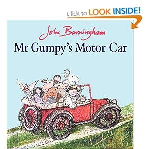 Mr. Gumpy's Motor Car by John Burningham (1976, Hardcover)