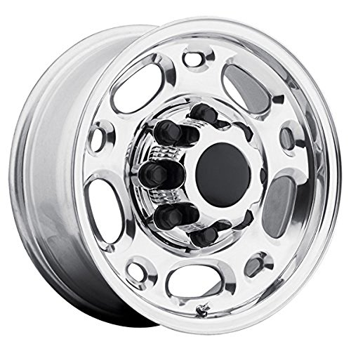 OE Performance 156 16 Polished Wheel / Rim 8×6.5 with a 28mm Offset and a 130.81 Hub Bore. Partnumber 156P-668128