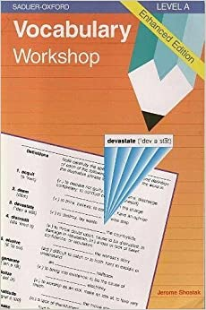 Sadlier-oxford vocabulary workshop level a book