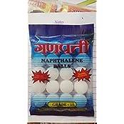 Ganpati Napthelene Ball, 500 Gms, White
