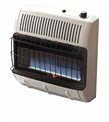 Mr. Heater Corporation Vent Free Flame Natural Gas Heater, 30k BTU, Blue