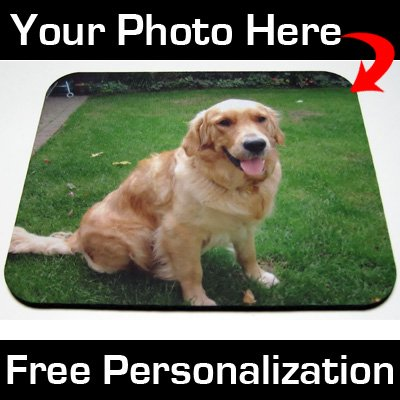Mousepad Custom Personalized Photo Mouse Pad - With Your Photo or Logo!:   Mouse Pads for Christmas