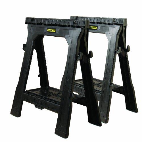 Stanley 060864R Folding Sawhorse (2-Pack)