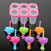 1 X Fruit Ice Cream Mould Frozen Ice Cream Pop Mold Popsicle Maker Lolly Mould Tray Pan Kitchen DIY Ice Cream...