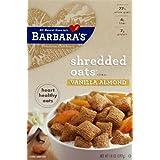 Barbara's Bakery Shredded Oats Vanilla Almond, 14-Ounce.(pack Of 3)
