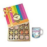 Delightful Birthday Celebration With Birthday Mug - Chocholik Belgium Chocolates