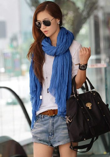 Crinkle Scarves for as low as.