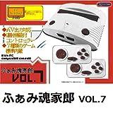 FC互換ゲーム機 ふぁみ魂家郎 VOL.7 (ファミコンカラー)