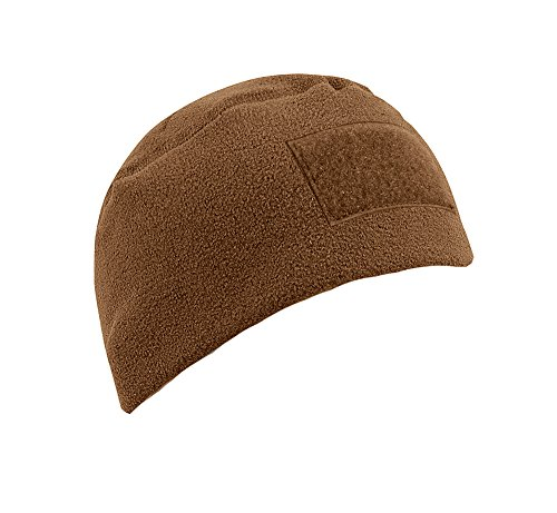 Military Style Tactical Watch Cap/Beanie w/Loop Field, Coyot