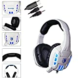 Sades SA-718 3.5mm Stereo USB LED Gaming Headset Headphone Noise Cancellation Headset With High Sensitivity Microphone...