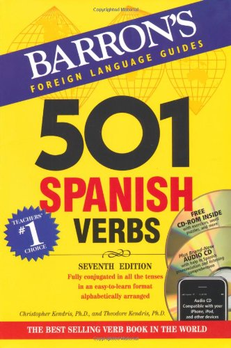 501 Spanish Verbs with CD-ROM and Audio CD