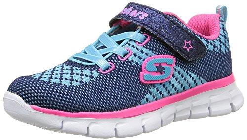 buy online d3aad a239a Skechers Synergy Lil Bubbly - Zapatillas para niñas, color azul  (marinefuchsia)