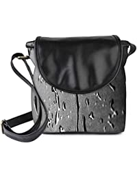 Snoogg Drops Texture Womens Sling Bag Small Size Tote Bag