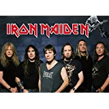 Iron Maiden A4 NON TEARABLE High Quality Printed Poster Wall Art - 8.27 × 11.69 Inch