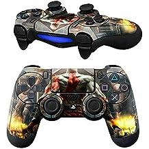 Elton PS4 Controller Designer 3M Skin For Sony PlayStation 4 DualShock Wireless Controller - God Of War Painted Back