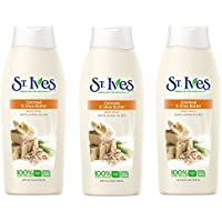 St. Ives Body Wash Oatmeal And Shea Butter, 24 Ounce (Pack Of 3)