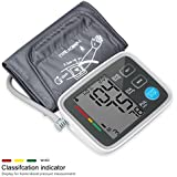 Automatic Digital Upper Arm Blood Pressure Monitor With Irregular Heartbeat Indicator LCD Display Memory Recall...