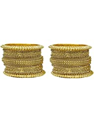 MUCH MORE South Indian Trand Collection Golden Bangles For Women
