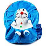Richy Toys Doreomon Cute Teddy Soft Toy School Bag For Kids, Travelling Bag, Carry Bag, Picnic Bag, Teddy Bag