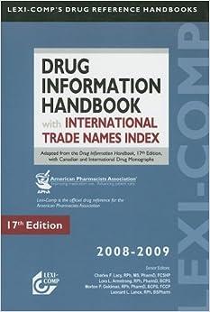 Lexi-Comp's Drug Information Handbook with International