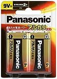 パナソニック 9V形アルカリ乾電池 2本パック 6LR61XJ/2B