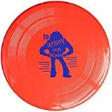 YFF Frisbee Red, One Size : YFF Toy Story Buzz Lightyear To Infinity And Beyond 150 Gram Ultimate Sport Disc Frisbee...