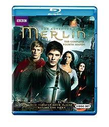 Merlin: The Complete Fourth Season [Blu-ray]