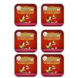 MeSleep Happy Raksha Bandhan Wooden Coaster-Set Of 6 - B013LETA48