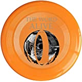 WG Brand Orange, One Size : WG Unisex The W Alive American Metalcore Band DARK MATTER Outdoor Game Frisbee Game...