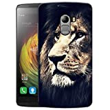 Lion Face Printed Designer Mobile Back Cover For Lenovo K4 Note By Ulta Anda (3D, Matte Finish, Premium Quality...