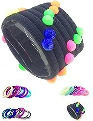 IOna Beauty Essentials PTSET8G6 Hair Band Rubber Bands Elastics Hairband Ponytailer For Girls