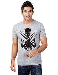 Sharq Wolverine X Men 100% Cotton Round Neck Tshirt