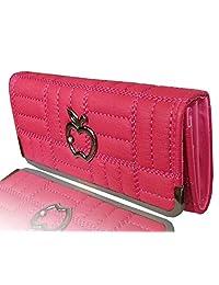 Sn Louis Canvas Pink Women Clutch 577