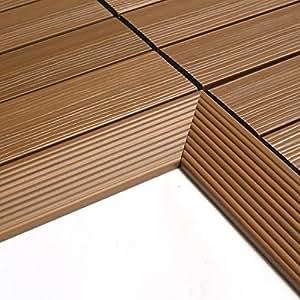 NewTechWood QD-IF-TK QuickDeck Composite Deck Tile Inside