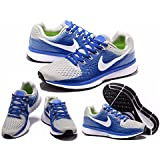 MAX AIR ZOOM PEGASUS 34 SPORTS RUNNING SHOES GREY BLUE