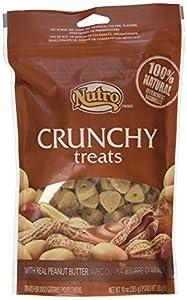 Amazon.com : Nutro Crunchy Treats Peanut Butter 10 oz