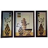 Positive Energy Canvas Hanging Wall Art Decorative Painting Frame (3pcs Set) D1
