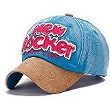 Generic 1 : 2016 Unisex Fashionable Print Letter Baseball Caps Casual Adjustable Baseball Caps Popular Lovers' Caps Summer Outdoors Sunhat