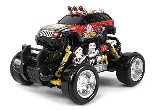 Graffiti V2 Jeep Grand Cherokee Remote Control Drift Truck 1:18 Scale Size 4 Wheel Drive Ready To Run W/ Working...