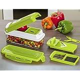 Richfloor Unique Gadget Nicer Multi Chopper Vegetable Cutter Fruit Slicer Peeler Dicer ...