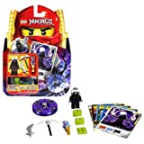Lego Year 2011 Ninjago Masters Of Spinjitzu Animated Series Battle Figure Set # 2256 - GARMADON With Thunderbolt...