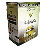 Dhavala Green Tea With Tulsi & Ginger