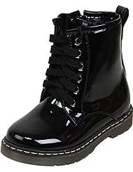 Zebra Boys' Synthetic Leather Boot