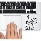 CVANU Pokemon Lapton Skin Stickers Black