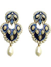 Dhwani Creation Alloy Drop Earrings For Women And Girls