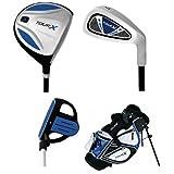 Merchants Of Golf Tour X 3-Piece Junior Golf Complete Set With Stand Bag, Right Hand, Graphite, Regular