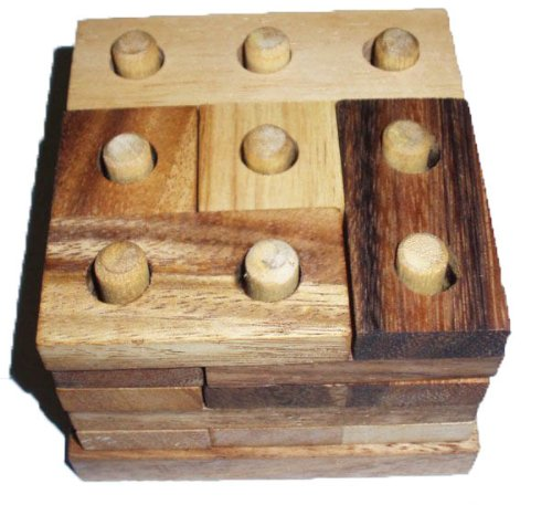 Ghost Tower Wood Brain Teaser Puzzle - great puzzle for ages 5 to 11