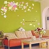 Studio Briana Colourful Flower Wall Décor Decal